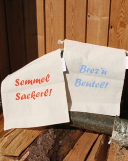 Bio-Baumwollbeutel – Brotbeutel mittel